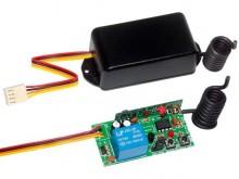 Receptor mono-canal multifunções grava até 248 TX,   conector flat para ligações em centrais. Compatível com todas as centrais. Simples, fácil instalação, melhor custo benefício. É Simples...