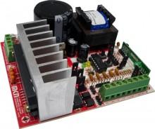 CENTRAL INVERSORA MKN - Alimentação de entrada 110/220 Volts (Para motores até 1 CV). - Saída MONOFÁSICA ou TRIFÁSICA (escolha via jumper) - Separação das botoeiras ENTRADA e SAIDA - Receptor Embarcado para 512 TX (não importa o número de botões) - Programação de percurso AUTOMÁTICA. - Ajuste digital para VELOCIDADE, PAUSA, RAMPA DE PARTIDA e CHEGADA - Bornes + conectores de finais de curso compatíveis com 3 e 5 pinos - Saída de alimentação para periféricos, (fotocélula, receptor externo e etc...) - Função CONDOMÍNIO, entrada para fotocélula e botoeiras - Fácil Instalação, Melhor Custo Benefício.